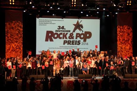 Deutscher Rock und Pop Preis 2016