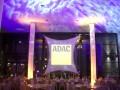 bst-Stretchsegel mit ADAC-Projektion