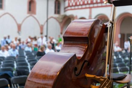 Andalusische Nacht in Kloster Eberbach, Impressionen vor dem Beginn. Foto: Markus Kohz, cross effects